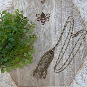 Loft Tassel Necklace 💗 Gold